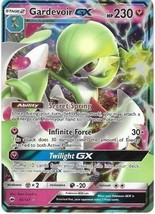 Gardevoir GX Ultra Rare #93/147 SM Burning Shadows POKEMON TCG Card NM U... - $23.95