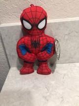 "Just Play Marvel Super Hero Squad Spiderman Plush Stuffed Animal 8"" A13 - $9.95"