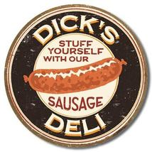 "Moore - Dick's Sausage Metal Tin Sign - 12.5"" x 16"" - $9.99"