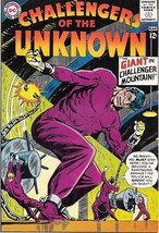Challengers of the Unknown Comic Book #36, DC Comics 1964 VERY FINE - $41.52