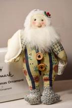 Hallmark: Plush Santa Ornament - 2007 Ornament - $10.78