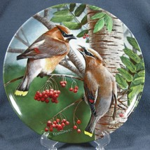 Cedar Waxwing 10th Birds of Your Garden Knowles Collector Plate Kevin Da... - $14.97