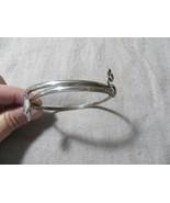 """Antique Victorian Sterling Wrap Snake Bangle Bracelet 2.5""""  - $129.99"""