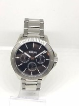 Fossil BQ1299 Black Dial Stainless Steel Multifunction Men's Watch - $79.99
