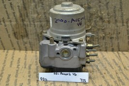 2000 Honda Accord V6 ABS Pump Control OEM Module 725-8d2 - $15.79