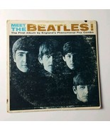 Meet The Beatles Mono LP Capitol T 2047 Recorded in England Made in Scra... - $28.04