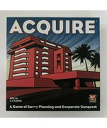 ACQUIRE by Avalon Hill Board Game of Planning & Savvy Corporate Conquest... - $67.72