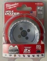 """Milwaukee 49-56-0129 2-13/64"""" Bi-Metal Hole Saw Hole Dozer USA - $7.92"""