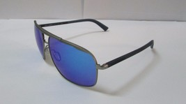 Dolce & Gabbana Sunglasses 2154 1262/25 Gunmetal Rubber Light Blue Mirro... - $99.99