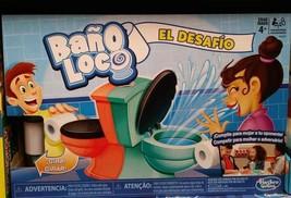 NEW~HASBRO~ BAño LOCO The Challenge ~JUEGO DE MESA~SPANISH/ESPAñOL VERSION - $48.94