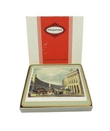 Pimpernel 6 Traditional Cork Place Mats 19th Century London Tower Parlia... - $64.30