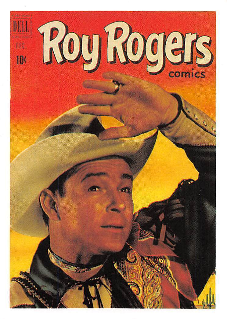 1992 Arrowpatch Roy Rogers Comics Trading Card #48 > Trigger > Happy Trail