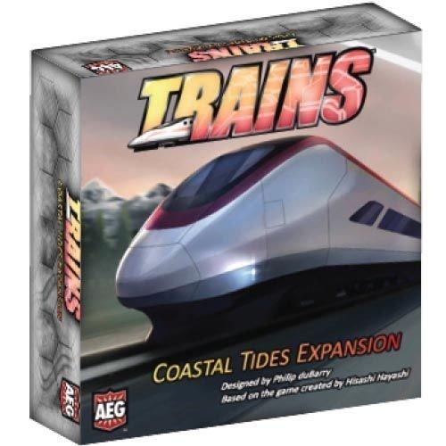 Alderac Entertainment ALD07014 Trains Coastal Tides Expansion Board Game