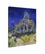 Wieco Art Church at Auvers by Vincent Van Gogh Famous Paintings Reproduc... - $30.09