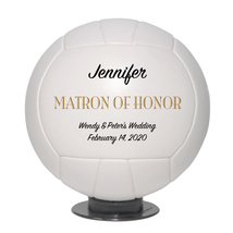 Matron of Honor Regulation Volleyball Wedding Gift - Personalized Weddin... - $59.95