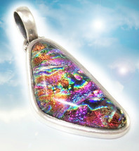 HAUNTED NECKLACE REVEAL SECRET MAGICKAL POWES MYSTICAL TREASURES HIGH MAGICK - $377.77