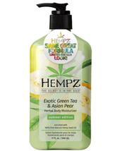 Hempz Exotic Green Tea & Asian Pear Herbal Body Moisturizer, 17oz