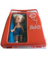 Heidi  In Red Case Vintage Remco Doll - $34.75