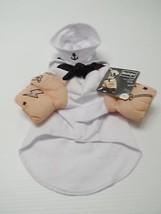 "Bootique Sailor Dog Costume Pet Halloween XS 11-13"" 2688435 New Tattoos Hat - $14.99"