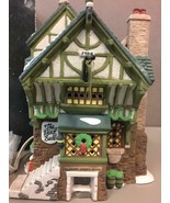 """Dept 56 """"THE PIED BULL INN"""" 2nd Edition 1993 Dickens Village Heritage Co... - $61.37"""