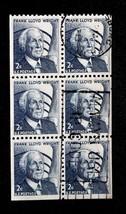 US Stamp Sc# 1280c Used Booklet pane of 6 Slogan Cancel - $15.99