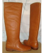 UGG AUSTRALIA Gracen Whipstitch Leather Boots in Mid Brown Size US 7 NIB... - $128.69