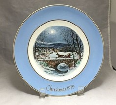 "Wedgwood England Christmas 1979 Enoch Dashing through the Snow 8 ¾"" Avon... - $3.95"
