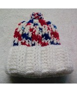 Red White and Blue Hat with White Cuff for Children and Teens - $5.00