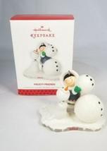 Hallmark Keepsake Ornament Frosty Friends 2013 34th series  Eskimo snowman - $34.99