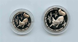 ISRAEL Holy Land Wildlife Song of Songs Little Foxes Silver Coin Set in ... - $133.65