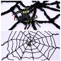 Fake Spider Web 2019 Halloween Decorations Creepy Indoor Outdoor Yard Ha... - $7.32+