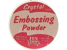 Stampendous-Fun Stamps-Embossing Powder-Sparkling Crystal-EP09 image 2