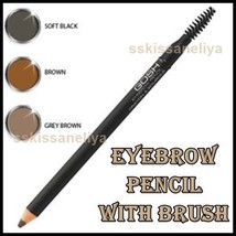GOSH Eyebrow Pencil With Brush, Paraben-Free Make Your Choice /Different... - $11.35