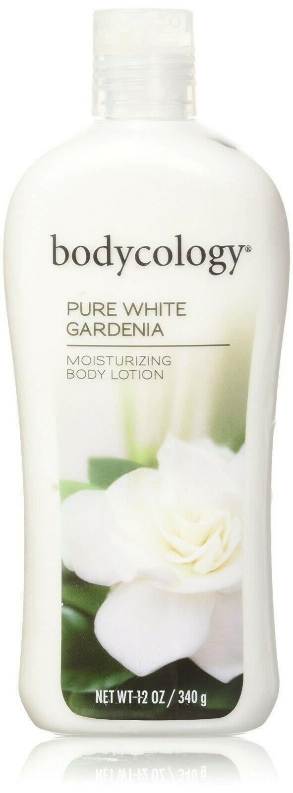 BODYCOLOGY* 12 oz Bottle BODY LOTION Moisturizing PURE WHITE GARDENIA Scented
