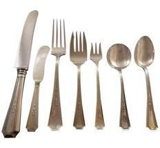 Colfax by Durgin-Gorham Sterling Silver Flatware Set For 8 Service 67 Pieces - $4,500.00