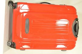 "Traveler's Choice 29"" Sedona new spinner red polycarbonate shell combo lock image 9"