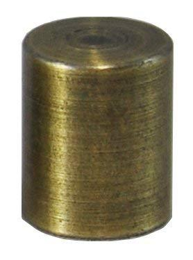 Urbanest Cylinder Lamp Finial for Lamp Shades, Antique Brass?1 Pack