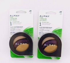 Almay Intense i-Color Party Brights For Green Eyes Powder Shadow *Twin Pack* - $11.49