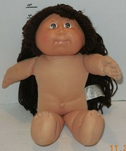 1982 Coleco Cabbage Patch Kids Plush Toy Doll CPK Xavier Roberts Brown H... - $24.75