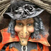 Karen Didion Lighted Cassandra Witch Shadowbox Halloween - $202.95