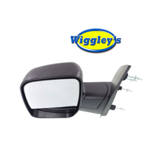 DRIVER SIDE NON HEATED MANUAL MIRROR FO1320253 FOR 03 04 FORD ECONOLINE VAN image 1