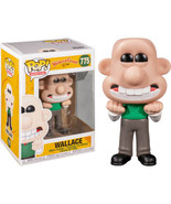 Wallace & Gromit Animated TV Wallace Vinyl POP Figure Toy #775 FUNKO NEW... - $26.11