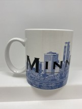 Starbucks Minneapolis Barista Coffee Cup Mug Skyline Series One 20 oz 2002 - $18.80