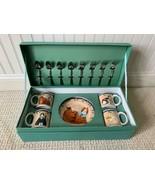 SAKURA Garland Cats 16 Piece Entertainment Set  w/ Reusable Box Oneida R... - $49.49