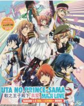 Anime DVD Uta No Prince-Sama : Maji Love Season 1-4 Vol.1-52 End + Movie... - $39.99