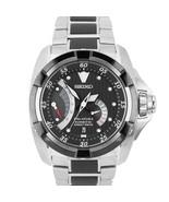 Seiko Velatura Kinetic Direct Drive Black Stainless Steel Watch SRH005P1... - $799.95