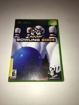 AMF Bowling 2004 (Microsoft Xbox, 2004) Complete with Manual - $4.99