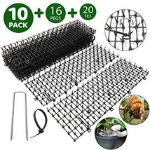 Cat Scat Spikes Mat X 10 Strips, Prickle Strip, Cat Spikes for Fence, Re... - $17.80