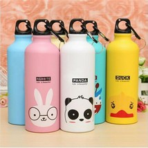 500 ml Water Bottle Portable Outdoor Sports Cycling Camping Aluminum Kid... - $10.01