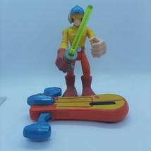 """Star Wars Playskool Luke Skywalker w/ Speeder Board 6"""" & Lightsaber  2004 - $11.81"""